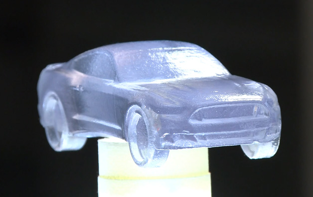 Ford Mustang 3D Printed chocolate