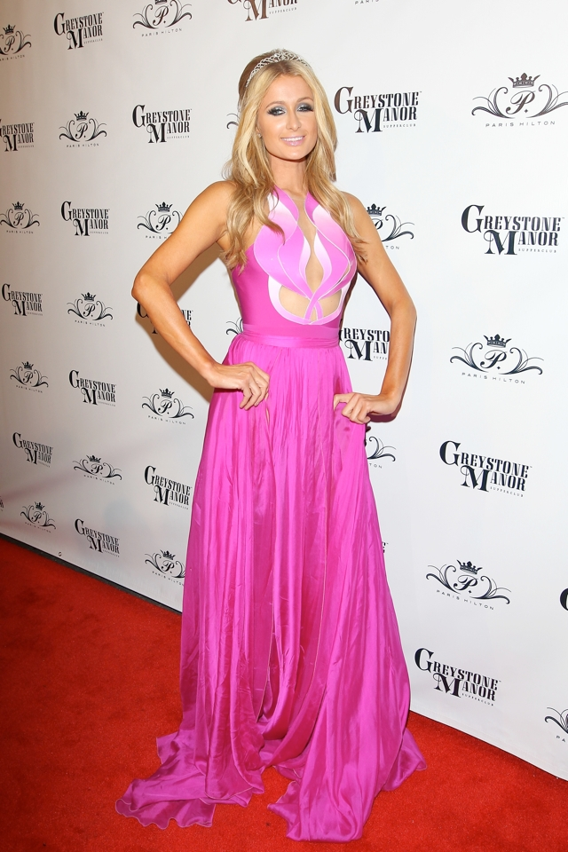 paris-hilton-pink-barbie-dress-33rd-birthday-party-photos