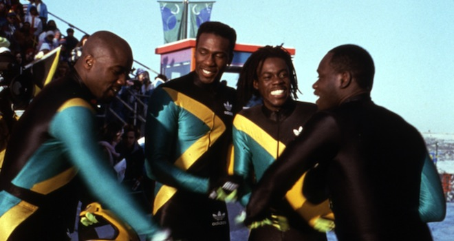 COOL RUNNINGS, Malik Yoba, Leon, Doug E. Doug, Rawle D. Lewis, 1993, (c)Buena Vista Pictures/courtesy Everett Collection