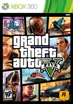 Grand Theft Auto V box