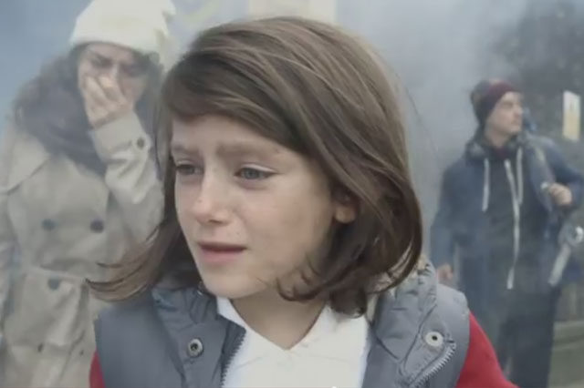 Save the Children Syria campaign shocking video