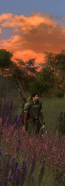 LotRO - Rohan sunset