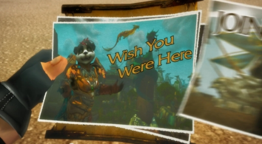 World of Warcraft's new Warlords of Draenor trailer wishes you were here