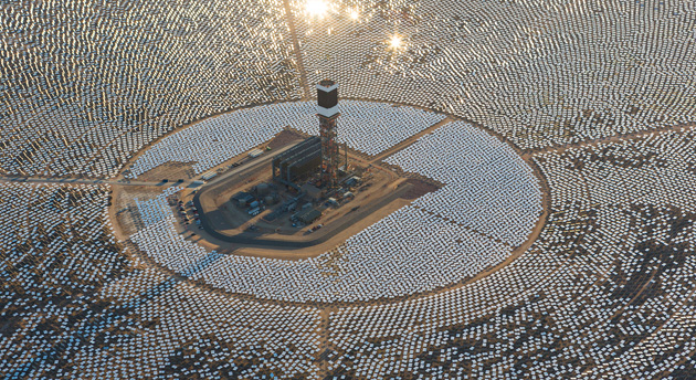 The world's largest solar thermal power plant is incinerating ...
