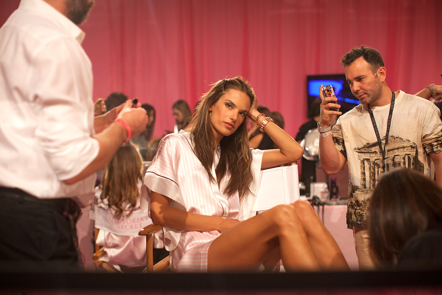 Behind the scenes at the 2013 Victoria's Secret Fashion Show