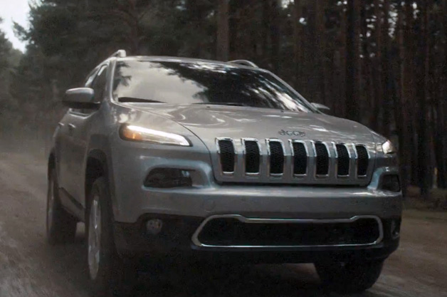 2014 Jeep Cherokee ad screen shot
