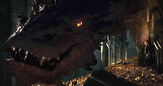 smaug, the hobbit, benedict cumberbatch