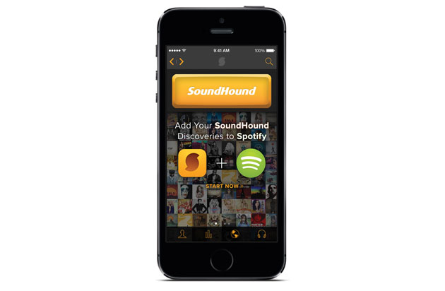 SoundHound now lets you make Spotify playlists from discovered music, but only on iOS