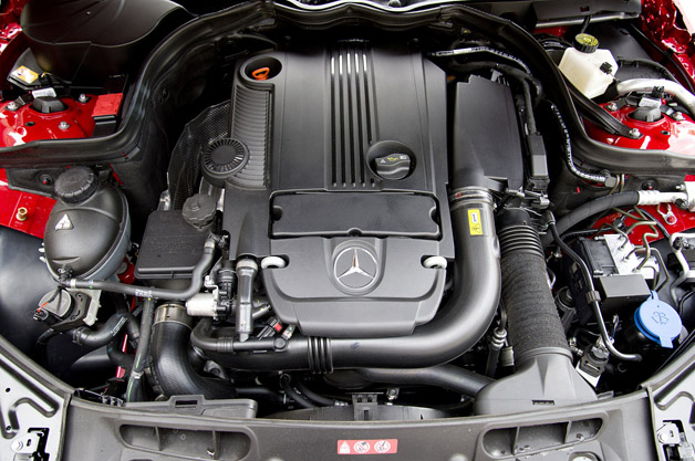 2013 Mercedes-Benz C250 Sport engine