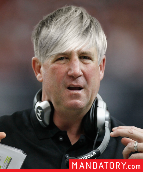 super bowl players with pixie hair cuts, john fox