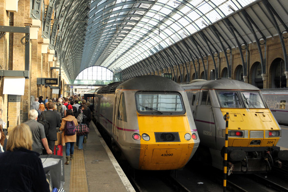 travelling with network trains leicester