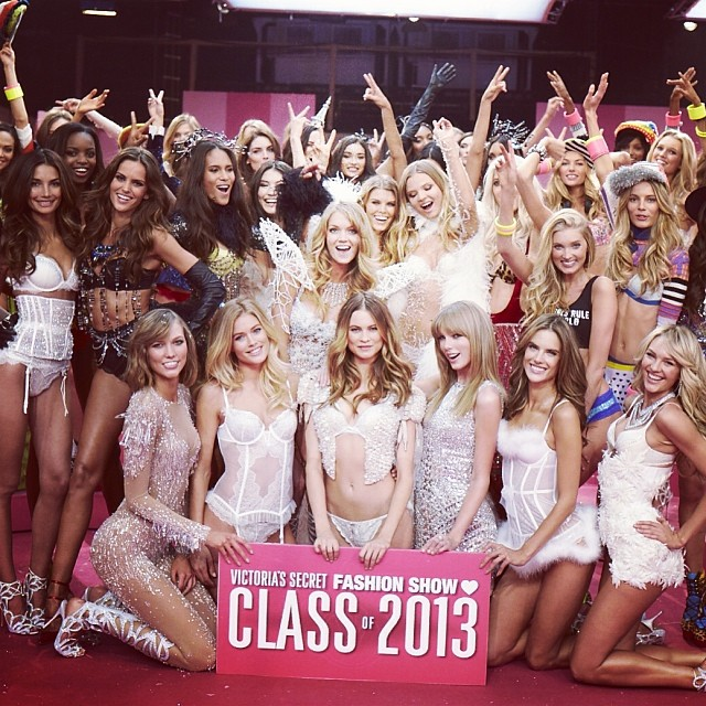 Taylor Swift, Victoria's Secret Angels