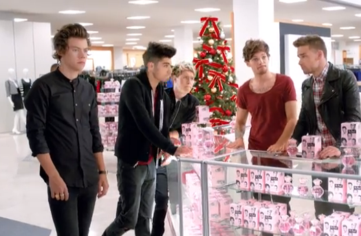 Watch One Direction Macys Our Moment commercial ad video