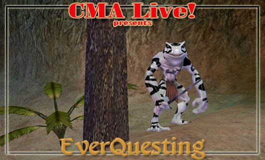 The Stream Team: The CMA Live Froglok hops into EverQuest