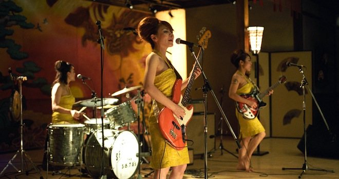 KILL BILL, The 5,6,7,8's performing, 2003, (c) Miramax/courtesy Everett Collection