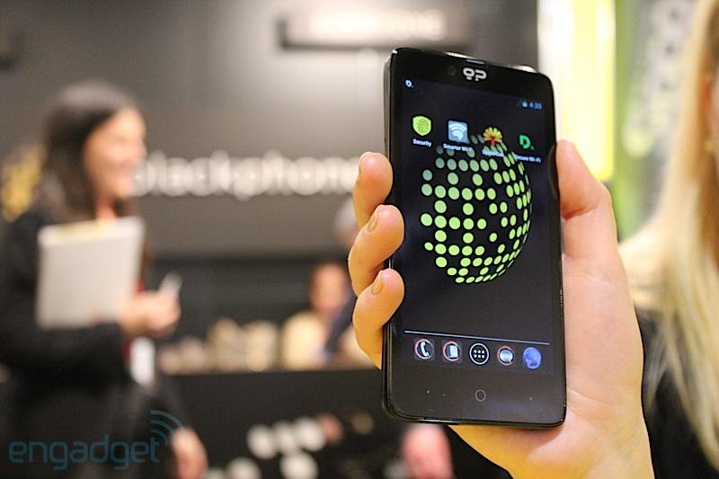 Blackphone, el androide más seguro del mundo, comienza con su distribución