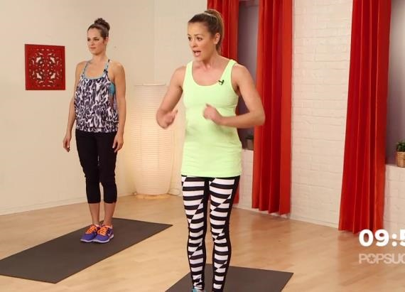 10 minutes to tighten and tone your entire body