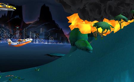 any landing in-game screenshots