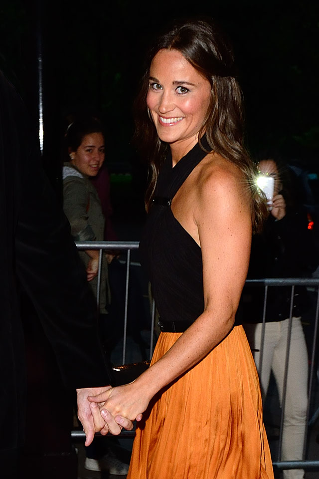 The Boodles Boxing Ball at the Grosvenor House Hotel, Park Lane in London, UK on September 21, 2013. <P> Pictured: Pippa Middleton <P><B>Ref: SPL614701  210913  </B><BR/> Picture by: James Whatling / Splash News<BR/> </P><P> <B>Splash News and Pictures</B><BR/> Los Angeles: 310-821-2666<BR/> New York: 212-619-2666<BR/> London: 870-934-2666<BR/> photodesk@splashnews.com<BR/> </P>