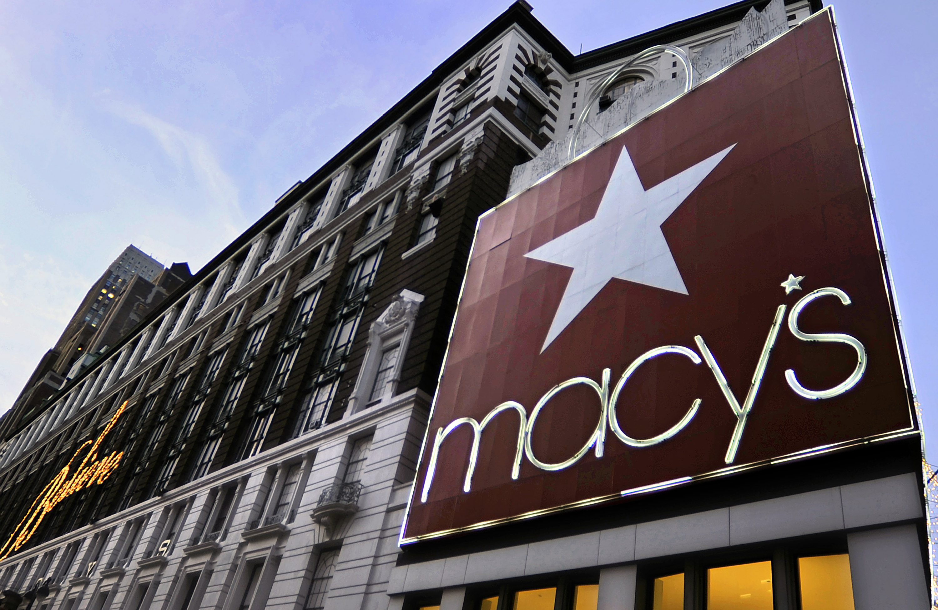 General View Of A Macy's Store
