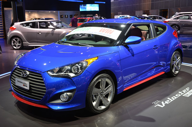 2014 Hyundai Veloster Turbo R Spec Loses Creature Comforts Gains Sporting Equipment Update