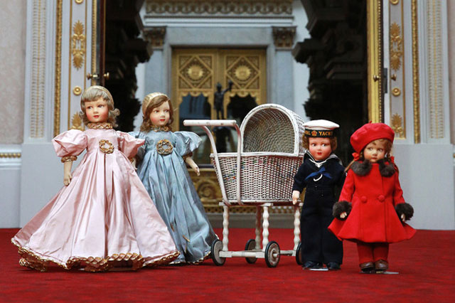 The Queen's childhood toys