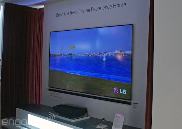 Lg Sneaks A New Version Of Its Laser Tv Projector Into