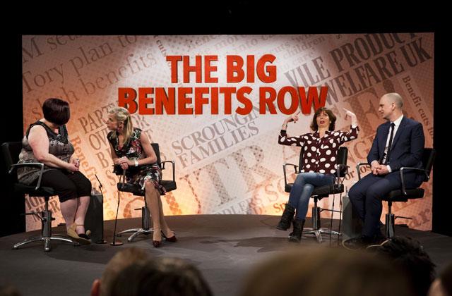 the big benefits row, katie hopkins