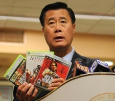 Leland Yee says don't play with pretend guns, but real gangsters are OK