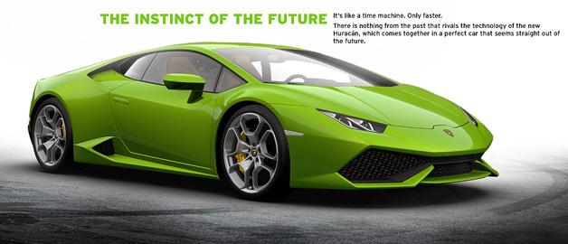 Lamborghini Huracán Configurator