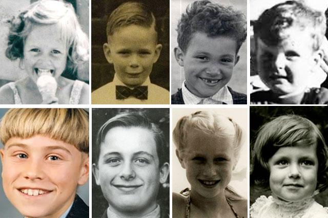 Barnardos and celebs when younger