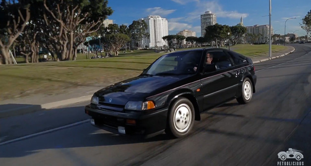 1987 Honda CRX Si video