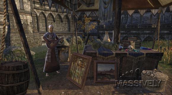Elder Scrolls Online merchant