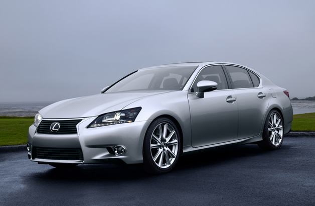 Lexus updated its GS lineup of sedans for 2014