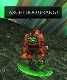 Bootarang victim