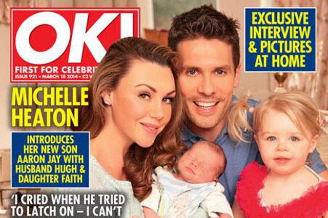 Michelle Heaton baby Aaron Jay