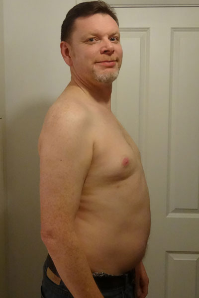 dad weight loss