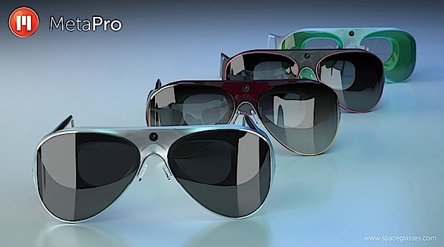 MetaPro ofrece una alternativa a Google Glass con estilo propio