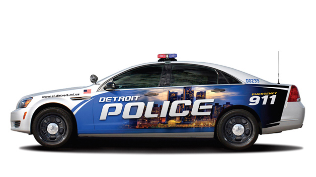 Detroit S New Fleet Of Donated Police Cars Have Safety