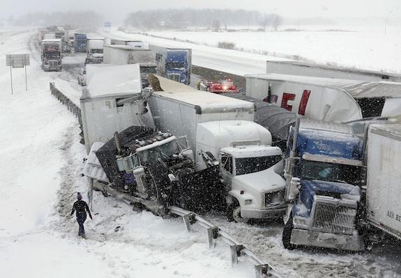 Ohio Winter Accident