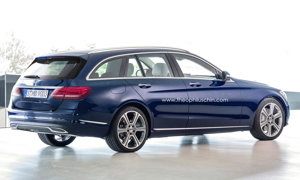 mercedes-benz, c-klasse, w205, neue c-klasse, w 205, c-klasse coupé, mercedes c-klasse coupé, fotos, rendering, bilder, c 205, c205, s205, s 205, renderings, c-class, C-Klasse Combi, c-class estate,