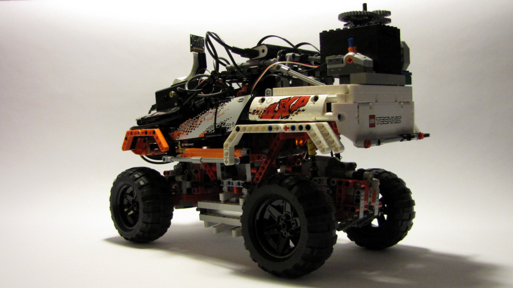 DIY-Lego-RC mit Raspberry Pi