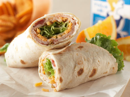 Chicken tortilla Wrap image from kraftrecipes