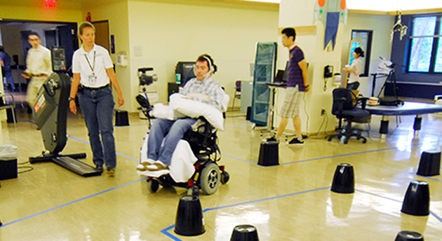 Georgia Tech tongue-controlled wheelchair