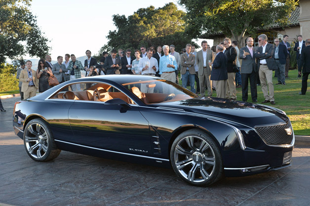 Cadillac Elmiraj Coupe Concept - live at Pebble Beach reveal