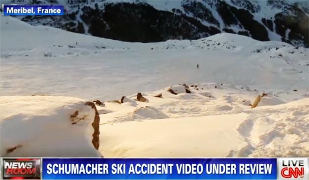 【ビデオ】事故はなぜ起きたのか? シューマッハが滑走していたルートをたどって検証