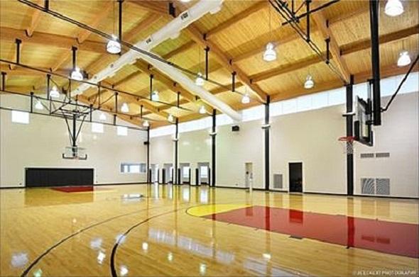 Michael Jordan home basketball court