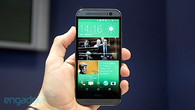 HTC One M8 impresiones video