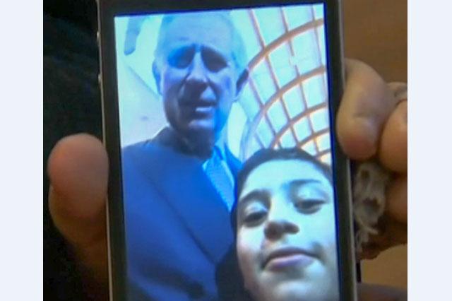 Prince Charles selfie