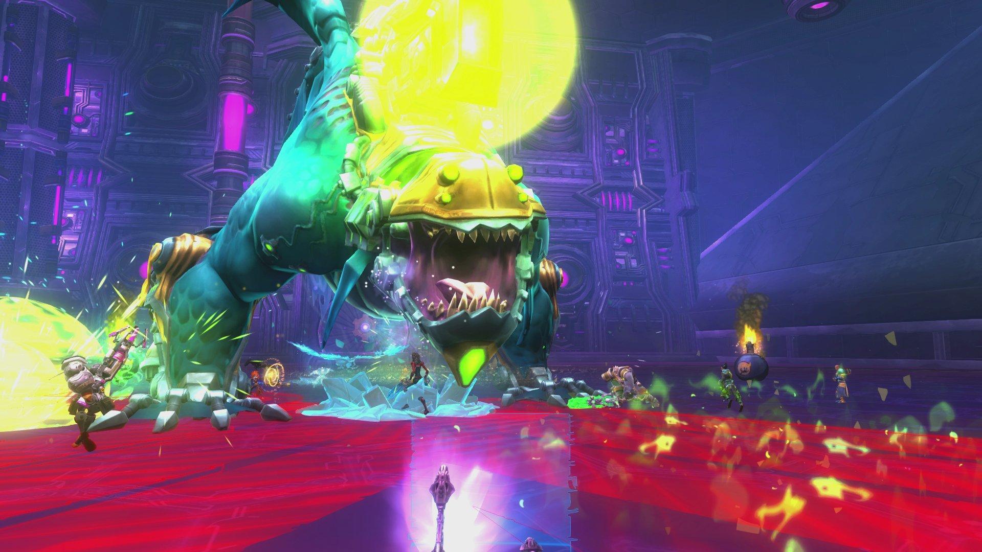 A raid encounter in Wildstar